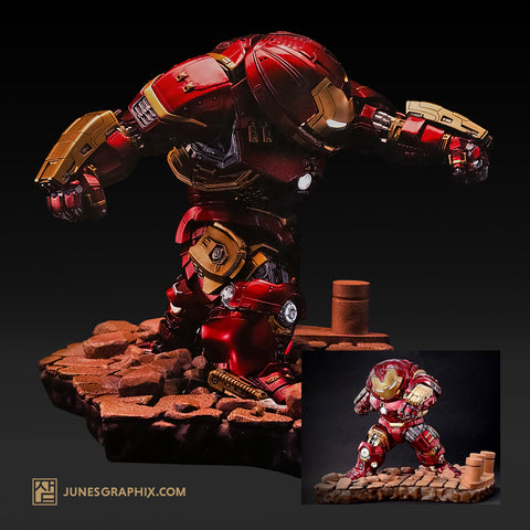 Avengers: Age of Ultron Hulkbuster Egg Attack Statue - Previews Exclusive