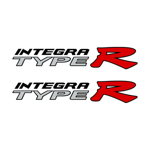 Integra Type R JDM Style Decal 1 Pair Set