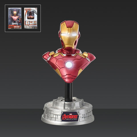 Marvels Avengers: Age of Ultron Iron Man Light-Up Resin Bust Paperweight