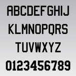 Custom Letter / Number Iron-On Transfers (Matte)