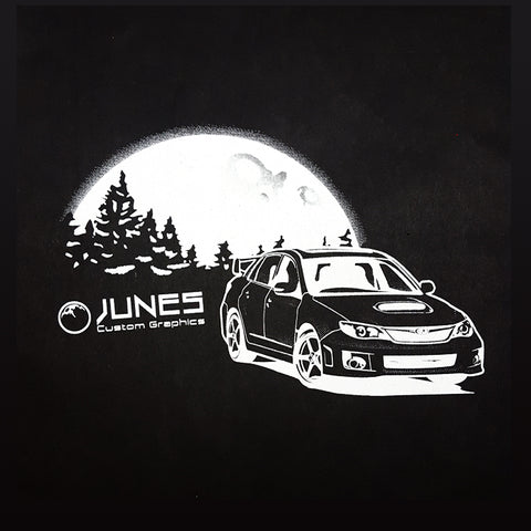 WRX STI Night Moon T-Shirt