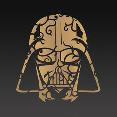 Darth Vadar Bronze Head