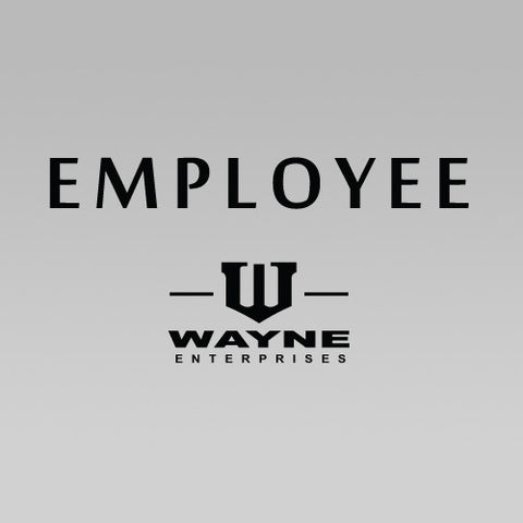 Batman Bruce Wayne Enterprises Employee T-Shirt