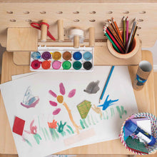 Load image into Gallery viewer, Childrens furniture markers bench for kids panting arts and craft