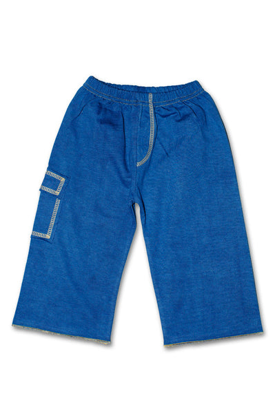 "Bottoms: ""Denim-Look"" Pocket Pants"
