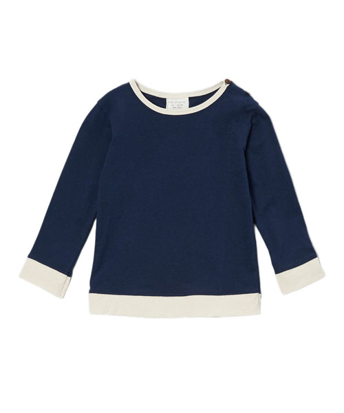 Tops: Long Sleeve T Shirt - Fashion