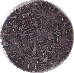1635 - 1636 SIXPENCE ( TOWER MINT ) CHARLES 1ST REF 10
