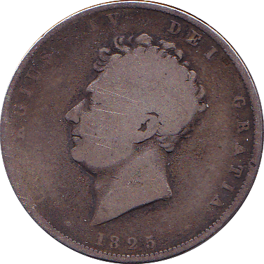1825 HALFCROWN ( FAIR )
