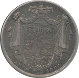 1834 HALFCROWN ( GVF )