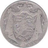 1836 HALFCROWN ( FAIR )