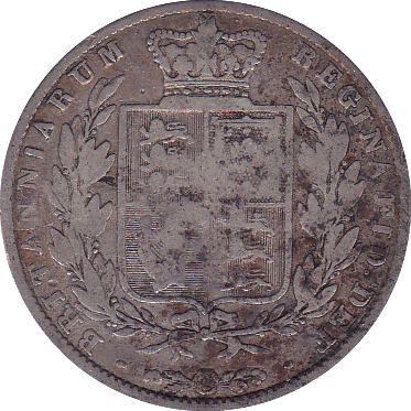 1844 HALFCROWN ( FAIR )