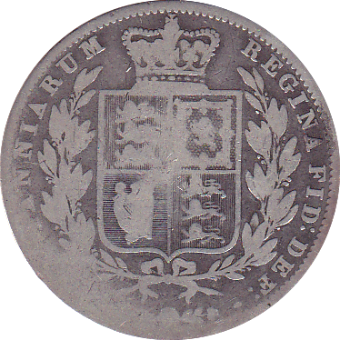 1846  HALFCROWN ( FAIR ) D