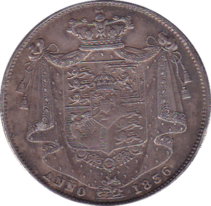 1836 HALFCROWN ( GVF )