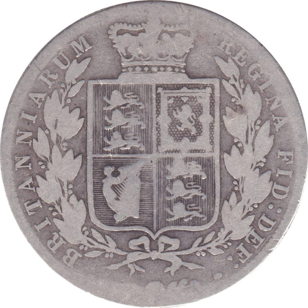 1881 HALFCROWN ( FAIR )