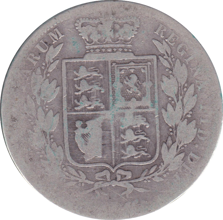 1881 HALFCROWN ( FAIR ) E