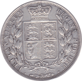 1883 HALFCROWN ( GVF )