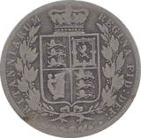 1884 HALFCROWN ( FAIR ) C