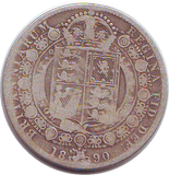 1890 HALFCROWN (F)
