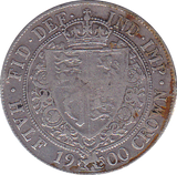 1900 HALFCROWN ( GF )