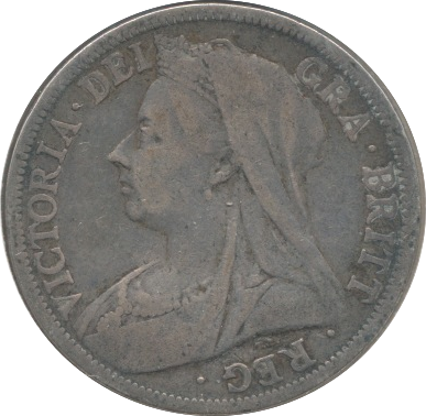 1900 HALFCROWN (F)