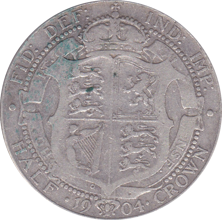 1904 HALFCROWN ( GF ) D