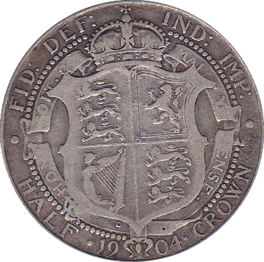1904 HALFCROWN ( GF ) B