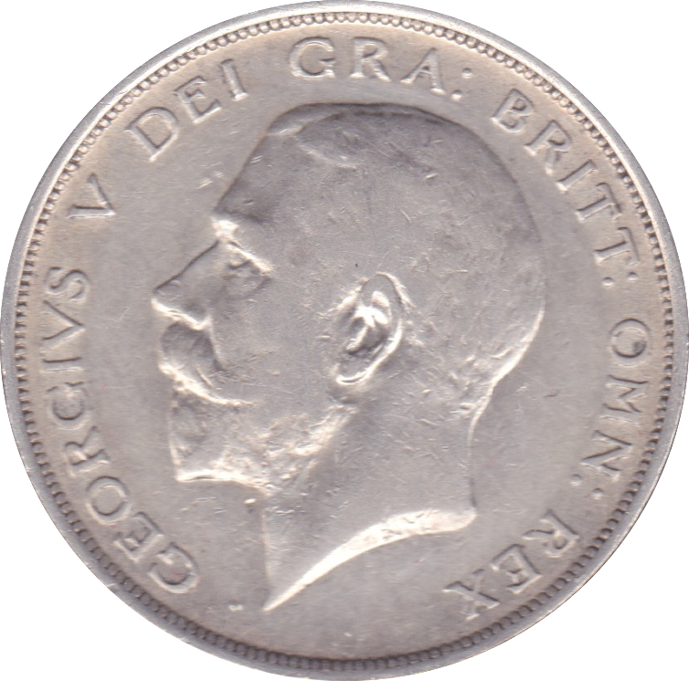 1913 HALFCROWN ( VF ) B