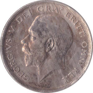 1916 HALFCROWN ( GVF )