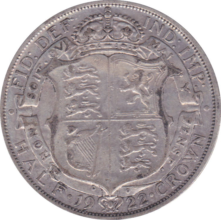 1922 HALFCROWN ( GF )
