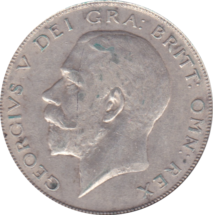 1923 HALFCROWN ( GVF )