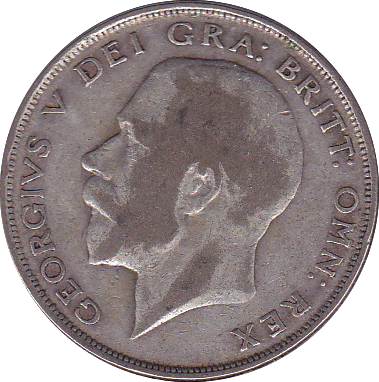 1924 HALFCROWN ( F ) B