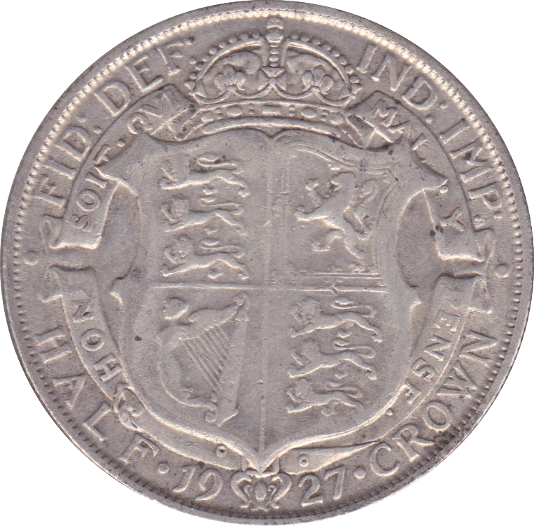 1927 HALFCROWN ( GF ) B