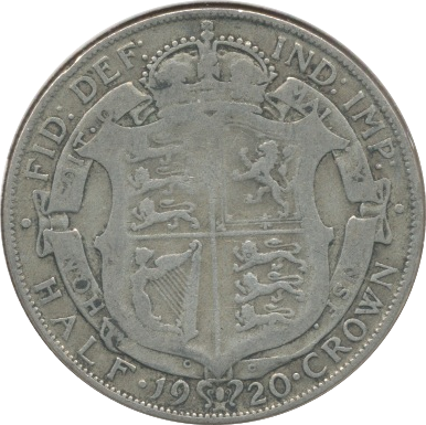 1920 HALFCROWN (F)