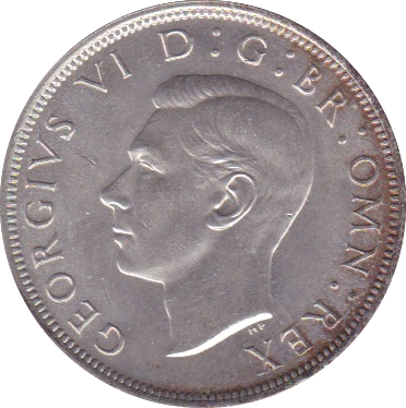 1946 HALFCROWN (UNC)