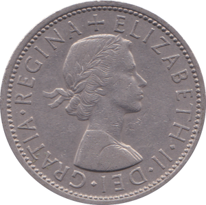 1966 TWO SHILLINGS ( EF )