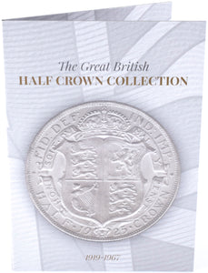 NEW 1919 - 1967 Great British Halfcrown Half Crown Coin Hunt Collectors Album