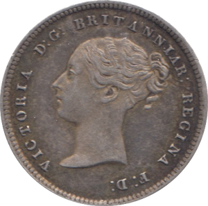 1861 MAUNDY FOURPENCE ( EF ) 4