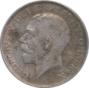 1925 HALFCROWN ( VF ) 7
