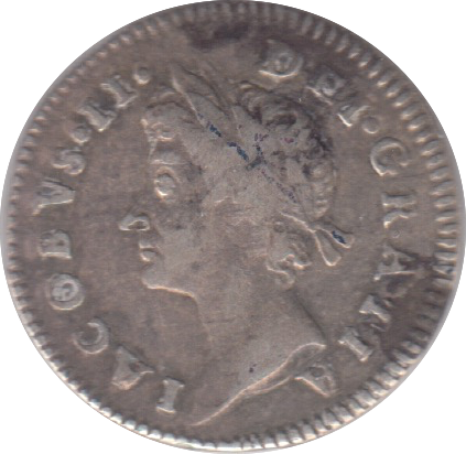 1687 MAUNDY THREEPENCE ( GF ) 7