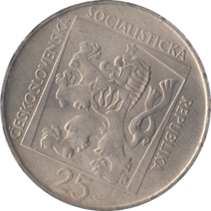 1970 CZECHOSLOVAKIA 50TH ANNIVERSARY SLOVAK