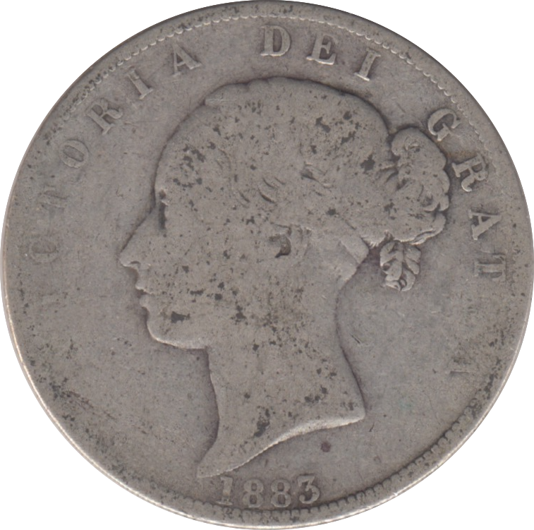 1879 HALFCROWN ( FAIR ) 17