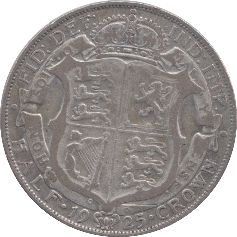 1925 HALFCROWN ( FAIR ) 17