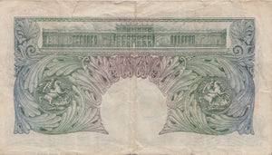 £1 BANK OF ENGLAND BEALE BANK NOTE REF 41