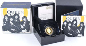2020 Gold Proof Quarter Ounce QUEEN £25 Coin Box COA Royal Mint