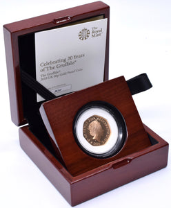 2019 Gold Proof 50p Fifty Pence Coin 20 Years of The Grufalo BOX + COA