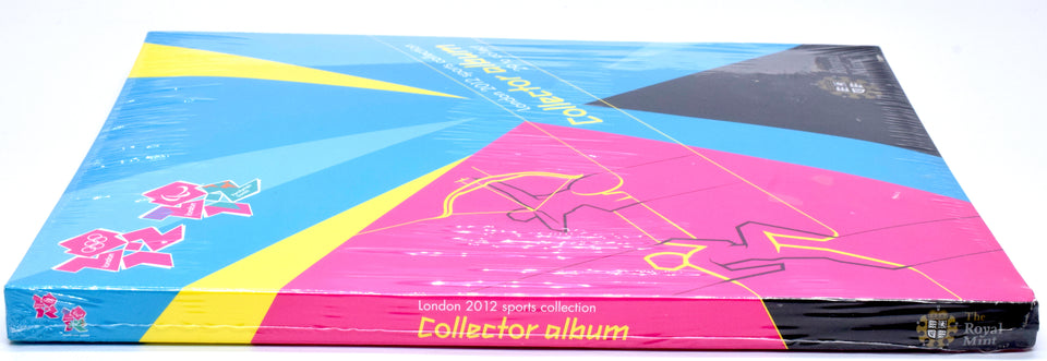 2012Royal Mint London 2012 Complete Olympic 50p Sports Collection Official Album SEALED