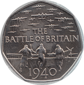 2015 Battle Of Britain 50p Coin