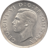1942 HALFCROWN ( UNC )