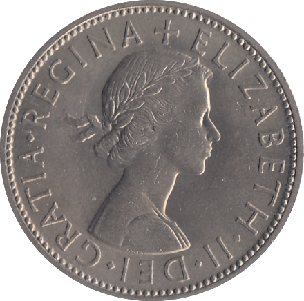 1962 TWO SHILLINGS ( UNC )