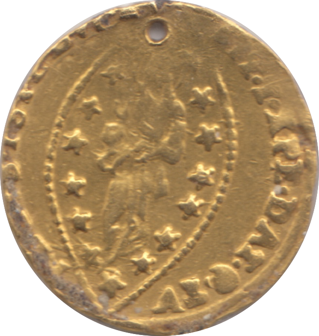 1500 GOLD VENICE COIN UNKNOWN DOGE